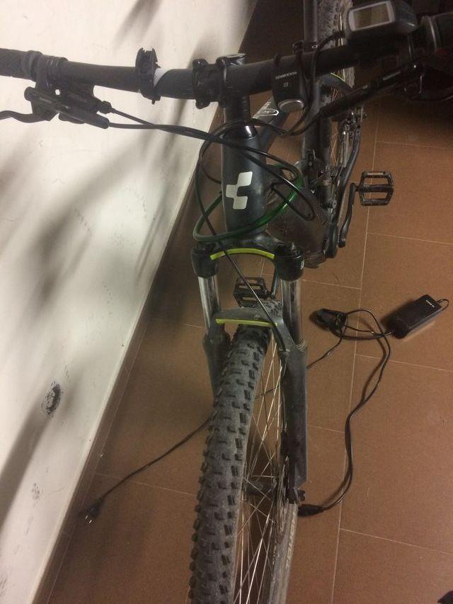 "eBike MTB Bicicleta Eléctrica Cube Acid Hybrid 29"""