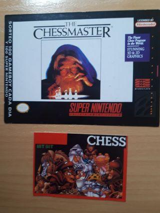 Ficha ChessMaster (Matutano) y Chess (BollycaoMSX)