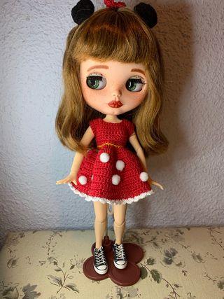 Blythe customizada + regalos
