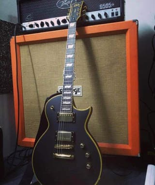 Ltd by ESP ES-1000 Delux Black Vintage