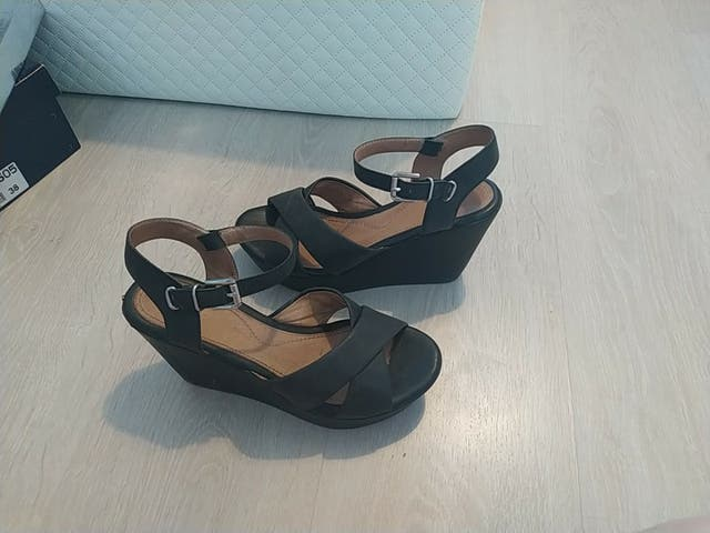 sandalias piel stonefly gris- negro