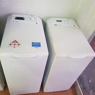 lavadora carga superior hoover otsein 6kg clase AA