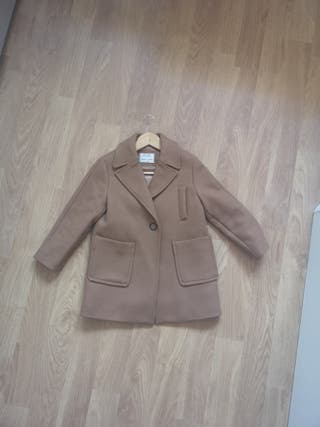 abrigo zara niña talla 8