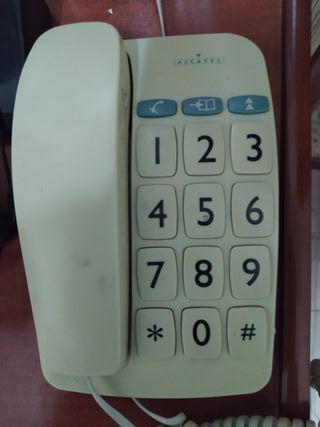 Teléfono Alcatel Numeración Grande mesa