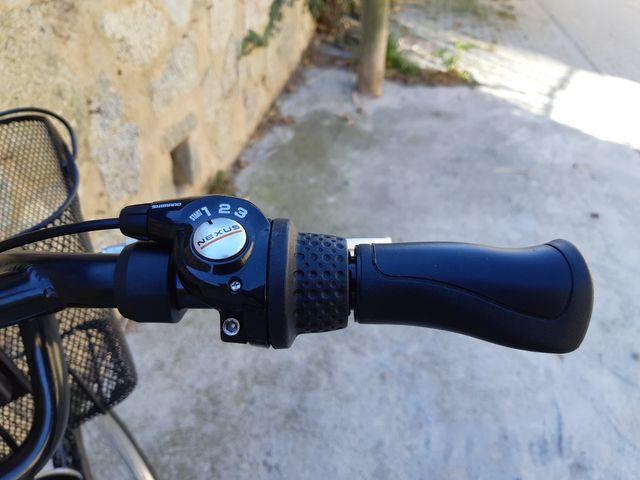 Bicicleta de paseo Decathlon elops