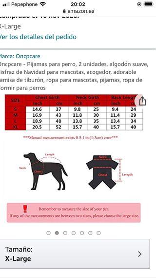Ropa de abrigo perro