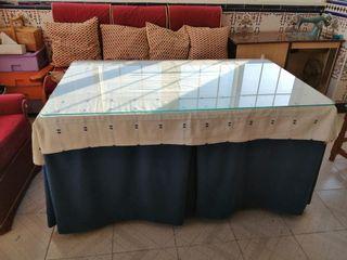 Mesa camilla cuadrada