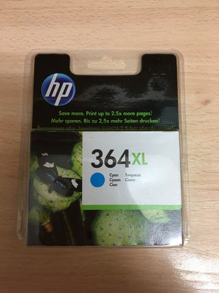 Cartucho impresora HP azul