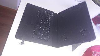 """E-Vitta - Funda con Teclado USB para Tablets 7-8""""E"""