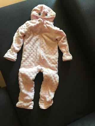 Mono polar con orejitas de bebé