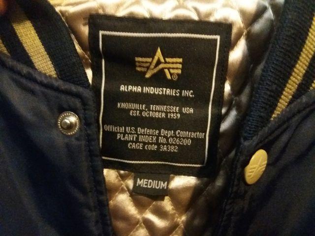 Bomber Alpha Industries Talla M