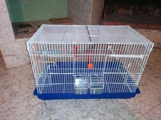 jaula para pájaros.