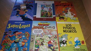 lote de cómics en perfecto estado variados