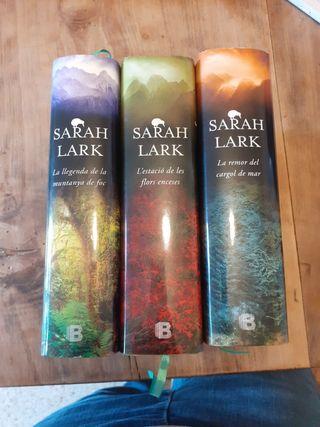 trilogia del foc de Sarah Lark en català
