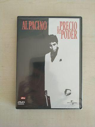PELÍCULA DVD EL PRECIO DEL PODER NUEVA SIN ABRIR
