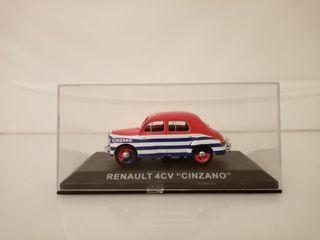 """Renault 4cv """"cinzano"""" escala 1/43"""