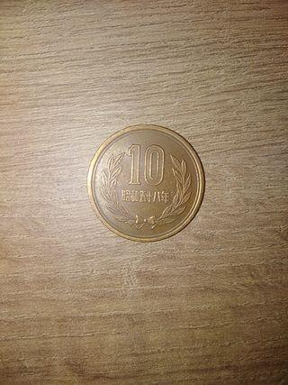 Moneda de Japón.