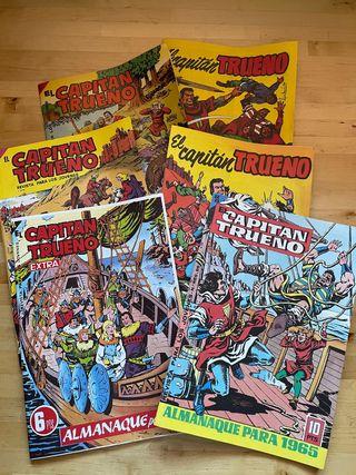 Antiguos cómics de El capitán trueno, Ed Bruguera
