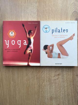 Yoga. Pilates. Ejercicios para tu bienestar