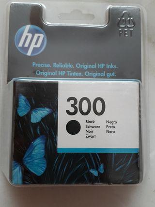 cartucho HP 300 original b/n