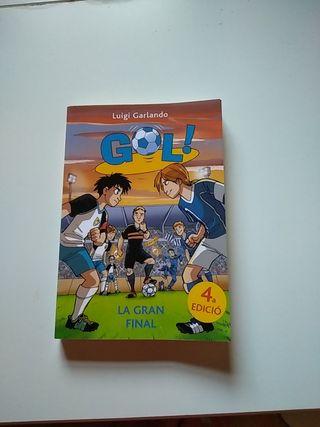 Libro Gol num 5 en catalán