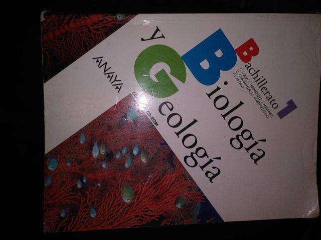 libro biología y geología 1 de bachillerato