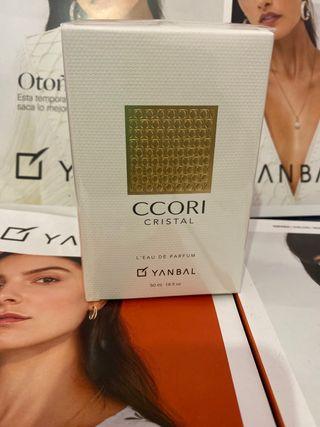 Perfume CCORI cristal de yanbal.