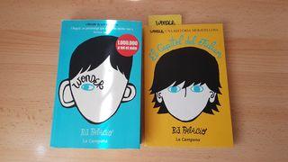 2 Libros de Wonder (Catalán)