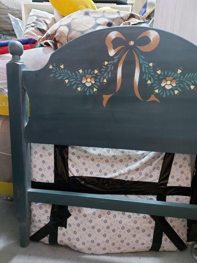 Cabecero cama individual madera ¡URGE!