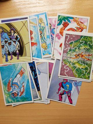 Cromos Masters del Universo (álbum dibujos)