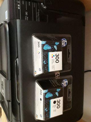 Impresora HP Deskjet F2480 multifunción+cartuchos