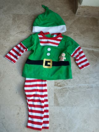 rapa navideña niño 9-12 meses