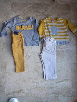 lote ropa bebé 6-9mese
