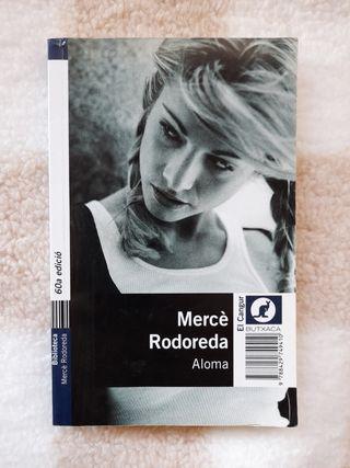 Libro en catalán 'Aloma' de Mercè Rodoreda
