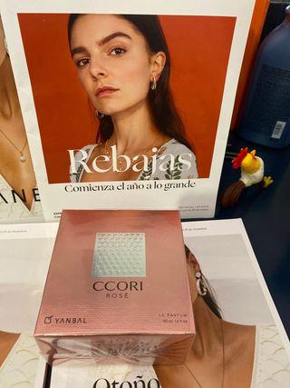 Perfume CCORI Rosé de yanbal