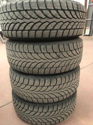"""Llantas y neumáticos de invierno en 16"""""""