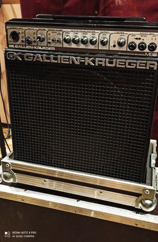 amplificador bajo gallien krueger mb150s, 112