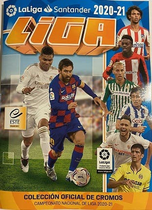 Colección completa de Liga Este 2020-21