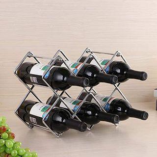 Organizador de Almacenamiento de Estante de vino