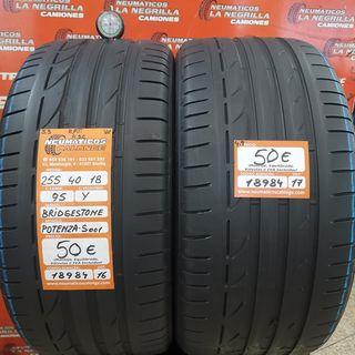 Neumaticos 255 40 18 95Y Bridgestone . Ref 18984
