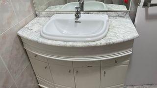 Mueble completo lavabo roca