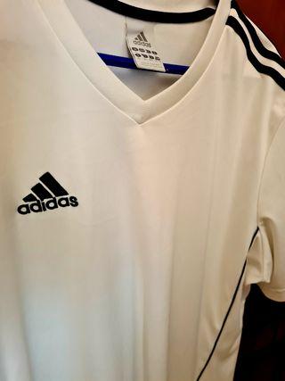 Adidas! Camiseta blanca xl.