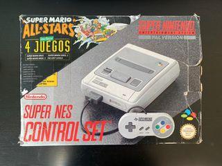 Super Nintendo - Pack Super Mario All Stars