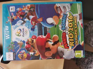 Juego Wii U Mario & Sonic