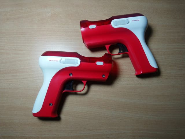 Pistolas para mando ps move ps3