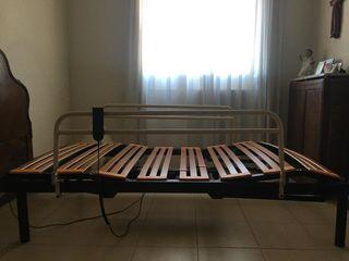 Lote cama articulada + colchón viscolelastico