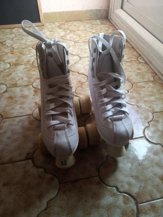 Patines Roller School White