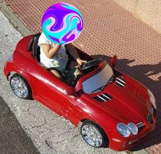 coche bateria mercedes