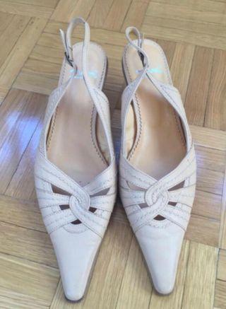 Zapatos una puesta