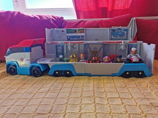 Camion Patrulla Canina + 7 vehículos